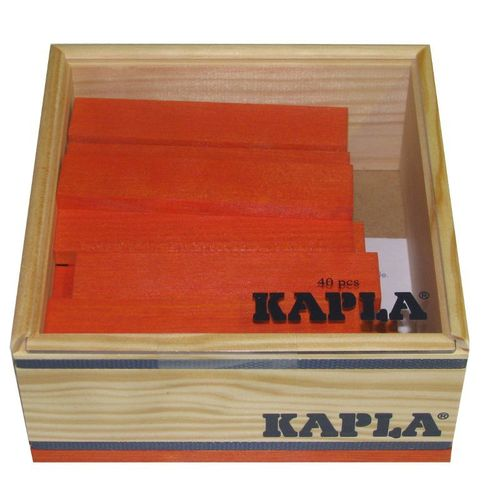 Kapla 40er Quadrat - orange